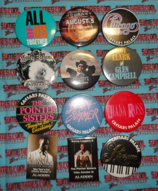 Musical Collection of Buttons