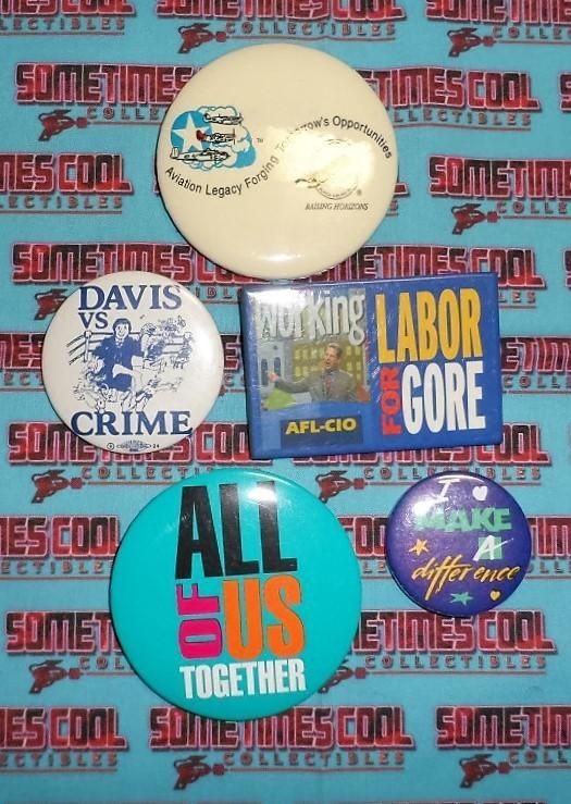 Political Button Collection