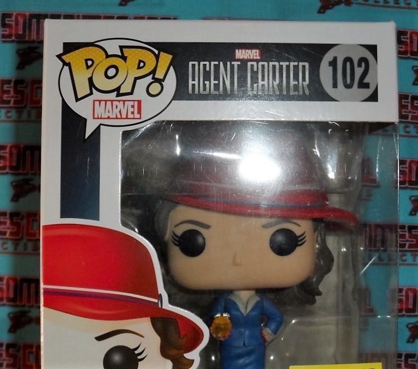 Agent Carter Funko Pop #102 : Hot Topic Exclusive