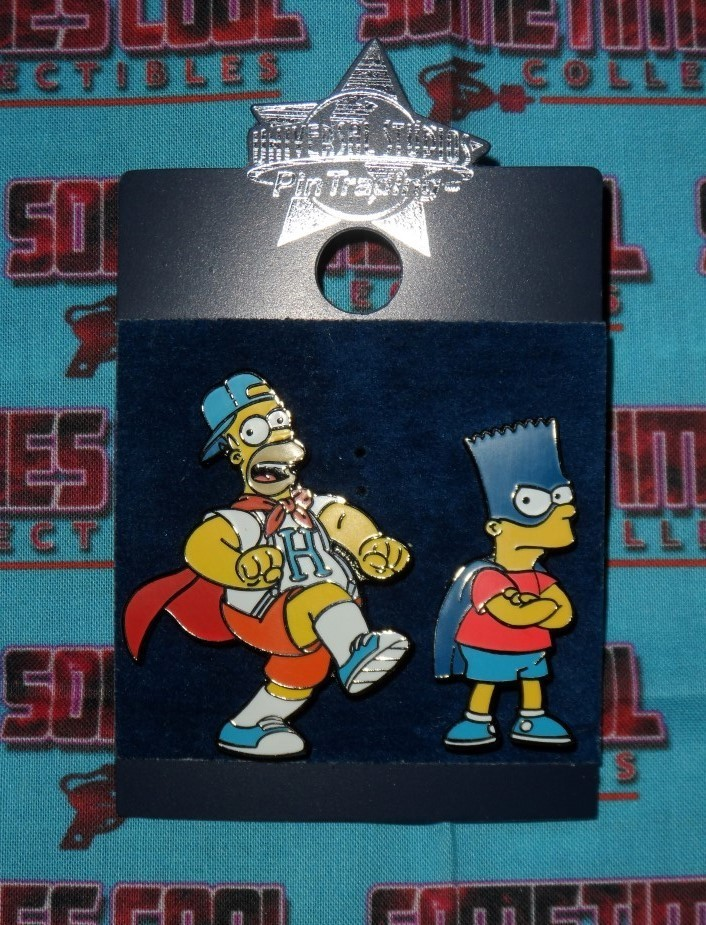 Homer & Bart Pin Set : Universal Studios