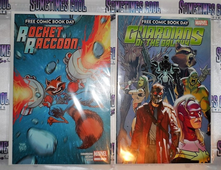 Rocket Raccoon & Guardians of the Galaxy Comic Book Two Pack