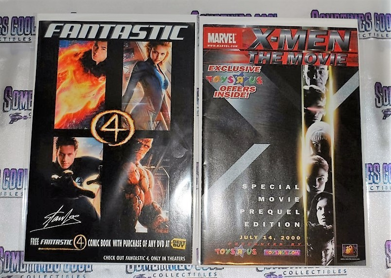 Marvel Movie Promo Comic Book Two Pack