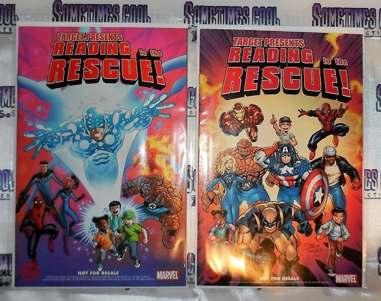 Target Presents Reading to the Rescue! : Marvel Comics Two Pack
