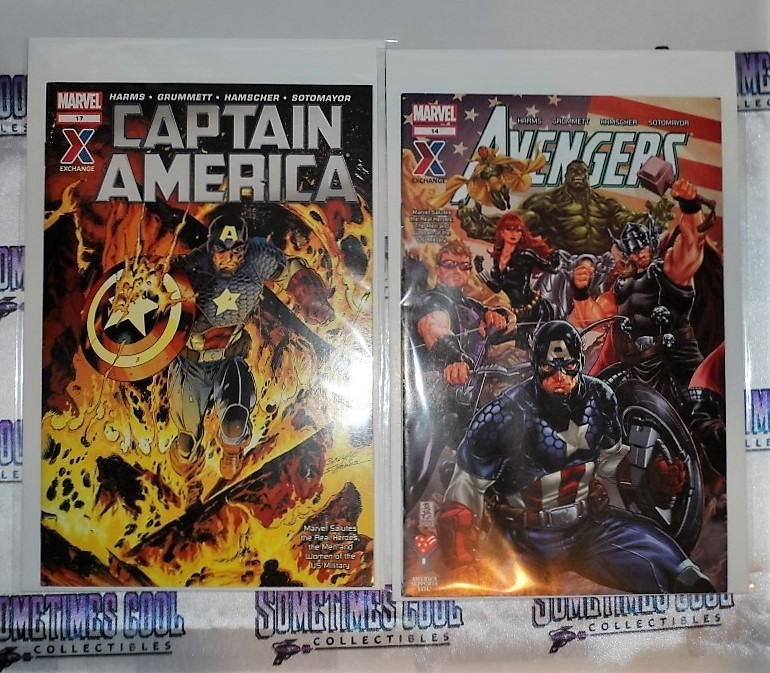 Marvel Comics AAFES Comics : Captain America & the Avengers
