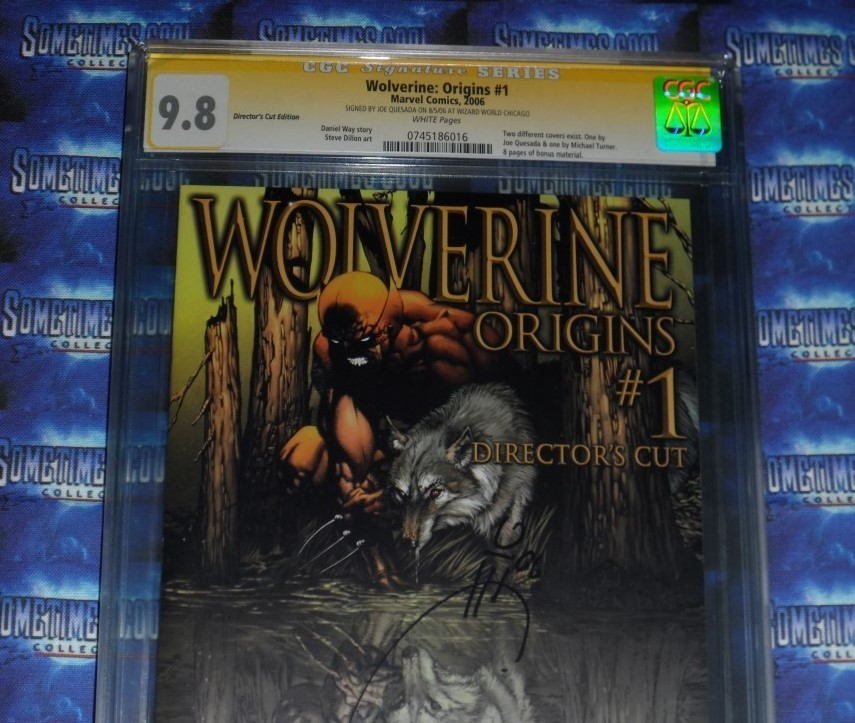 Wolverine Origins #1 : CGC 9.8 : Signature Series