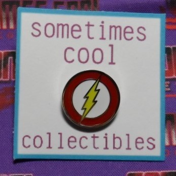 The Flash Logo Pin