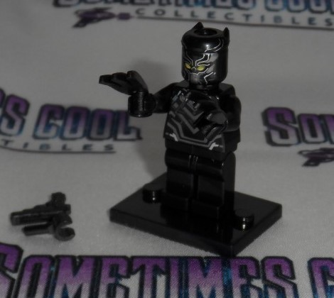 Mini Block Figure : The Black Panther