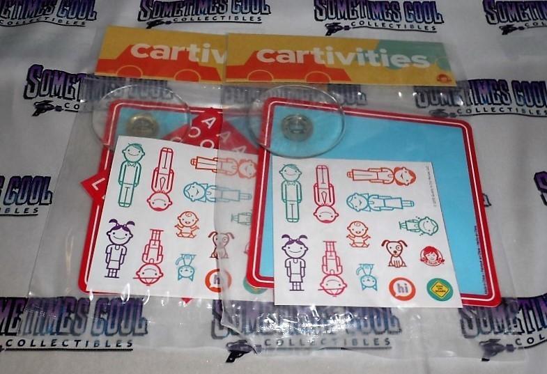 Wendy's Cartivities : DIY Car Sign (Set of 2)
