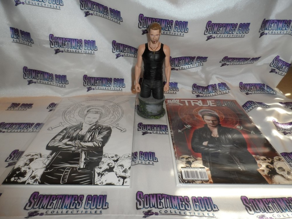 True Blood Set : Eric Northman Bust & Comic Books
