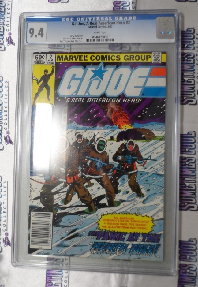 G.I. Joe : A Real American Hero #2 (First Printing) / CGC 9.4