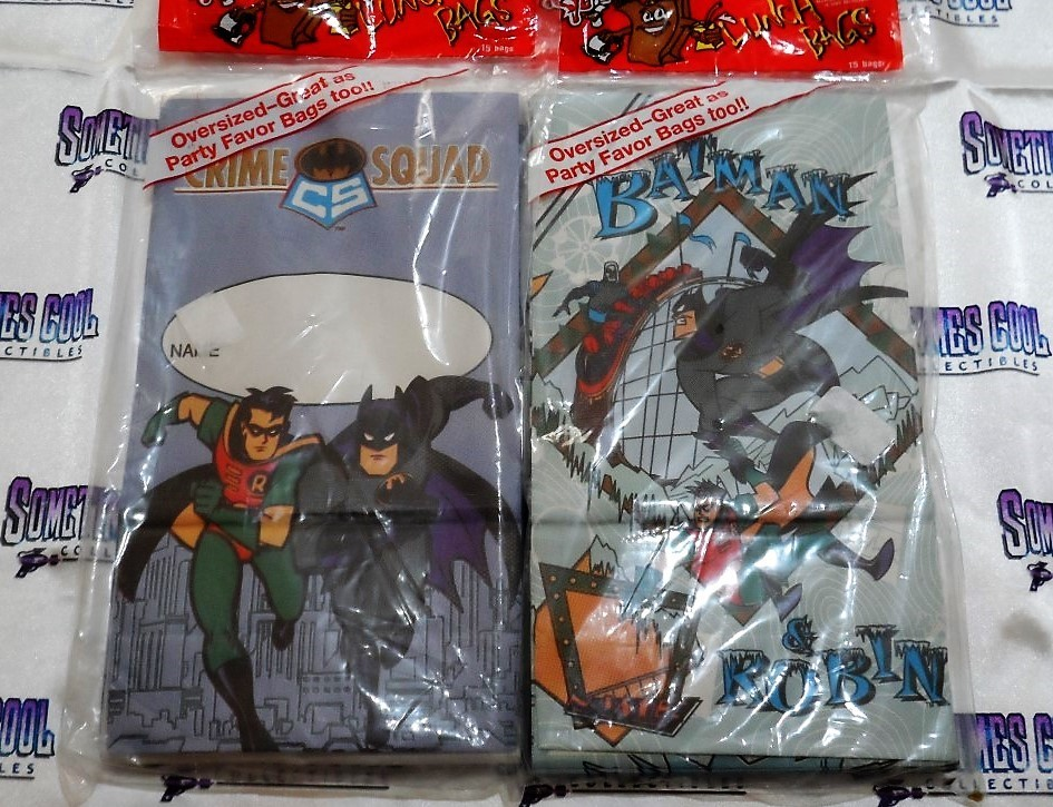 Batman Lunchbags (Set of Two)