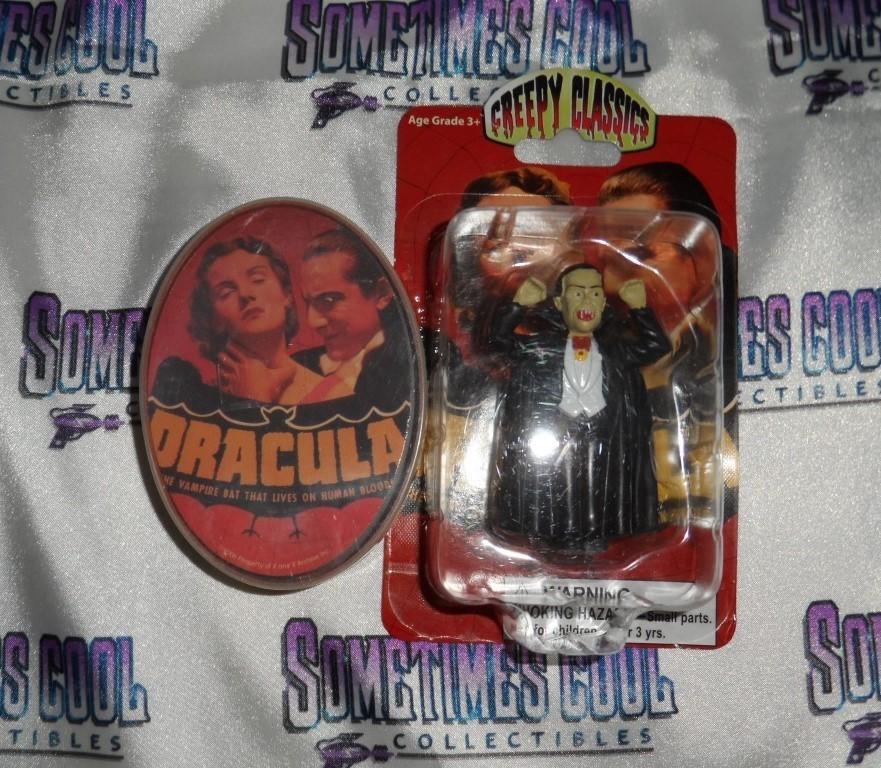 Creepy Classics Dracula Mini Figure & Playing Cards