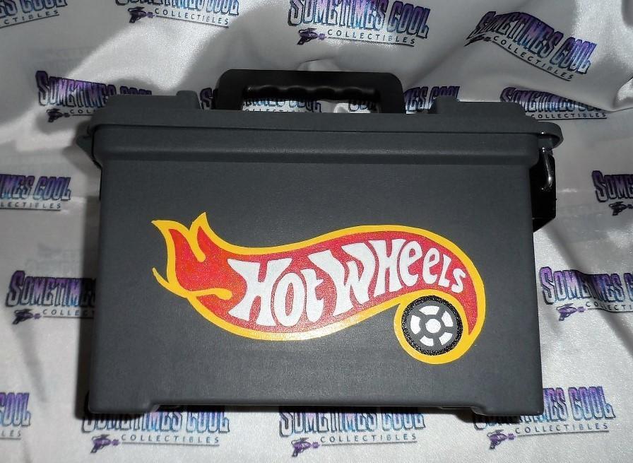 Ammo Box Customized - Hot Wheels Logo