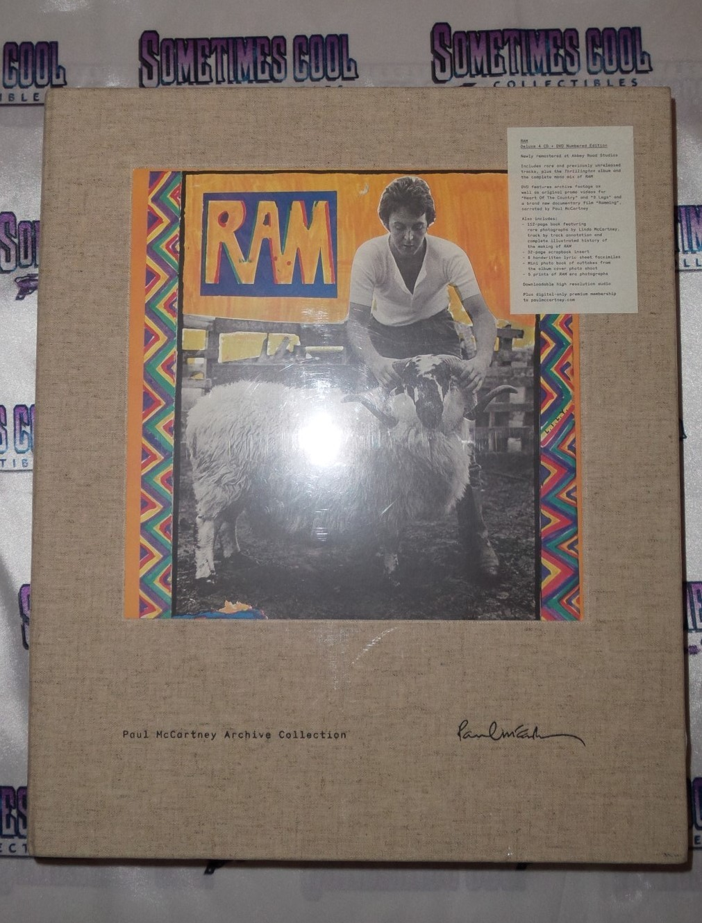 Paul McCartney Archive Collection :  Ram