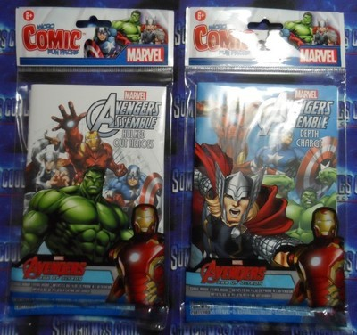 Avengers Assemble Micro Comics