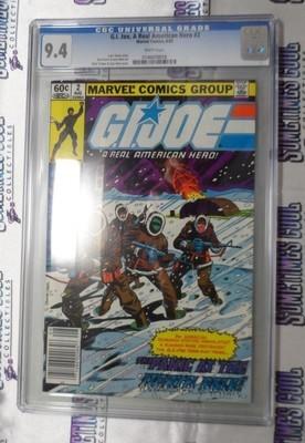 G.I. Joe : A Real American Hero #2 (First Printing) / CGC 9.4
