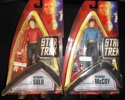 Mirror Sulu & Mirror McCoy Set -SDCC 2006 exclusive