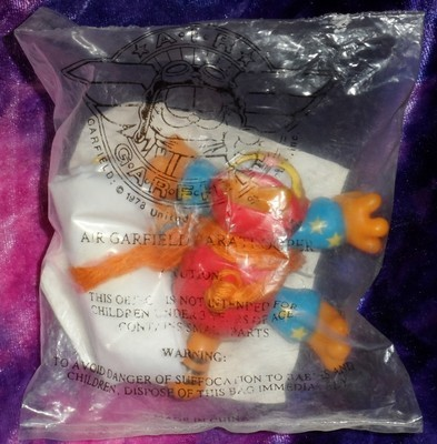 Air Garfield Paratrooper - Pizza Hut Promotional Toy