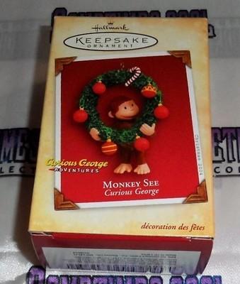 Hallmark Ornament 2004 : Curious George
