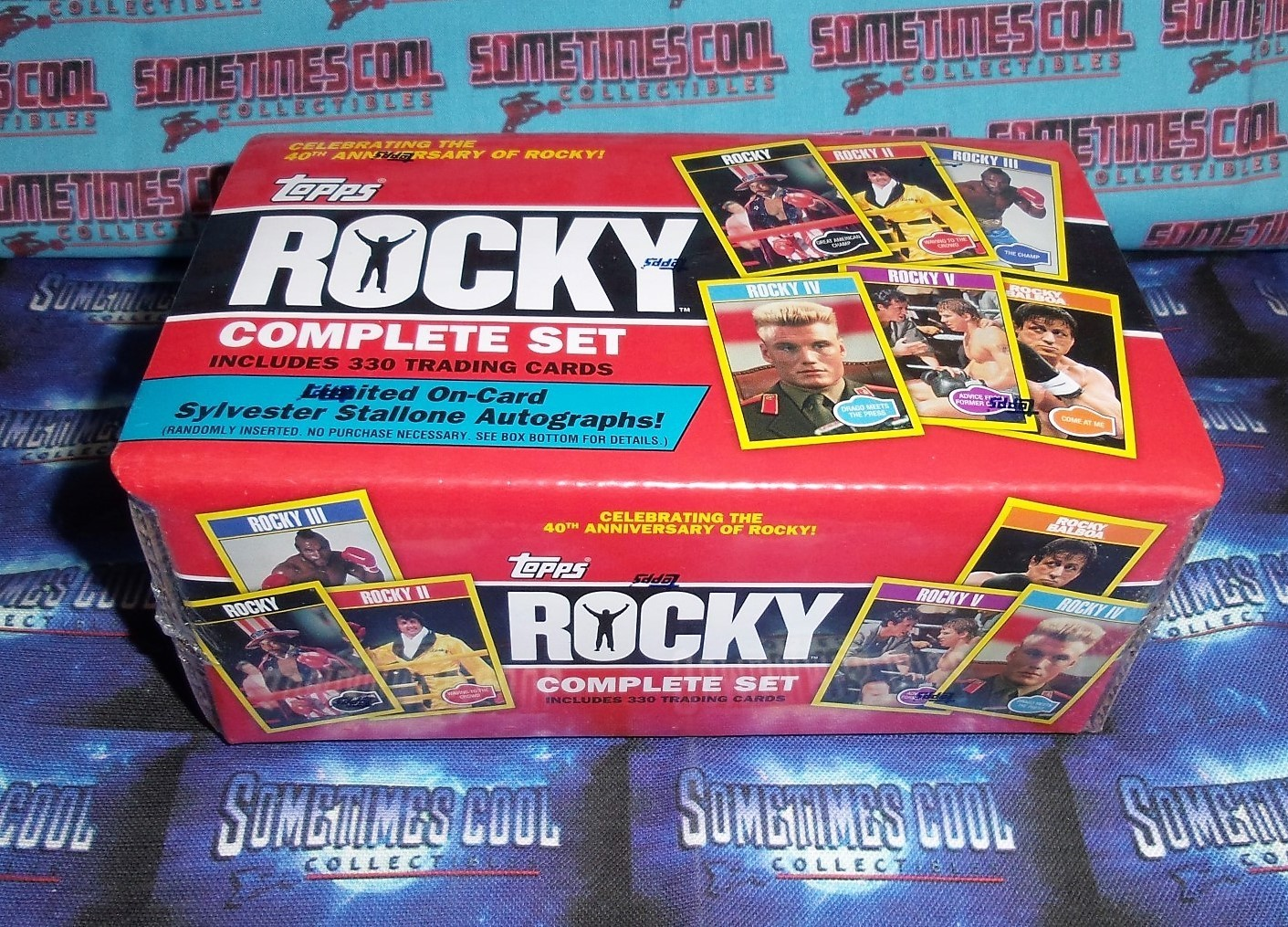 Topps Rocky 40th Anniversary Set