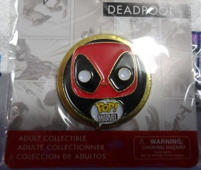 Funko Deadpool Pop! Pin