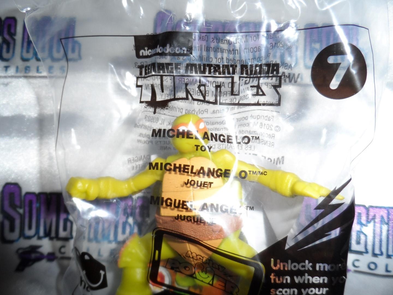 Teenage Mutant Ninja Turtles : Michelangelo #7 : McDonald's Toy