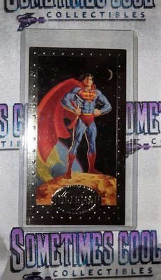 Superman : The Man of Steel Platinum Series Promo Card