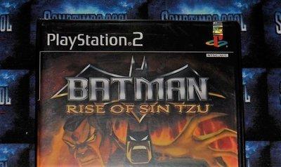 Playstation 2 : Batman Rise of Sin Tzu