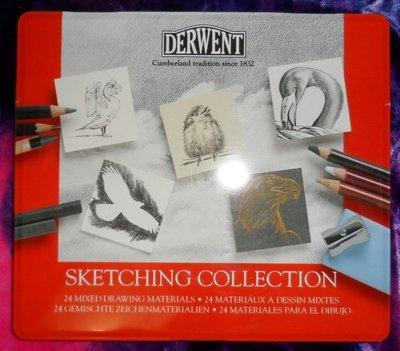 Derwent Sketching Collection Tin