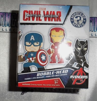 Captain America: Civil War Mystery Minis Vinyl Figure