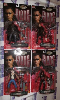 Blade Action Figures : Set of Four