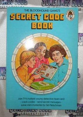 the Bloodhound Gang's Secret Code Book