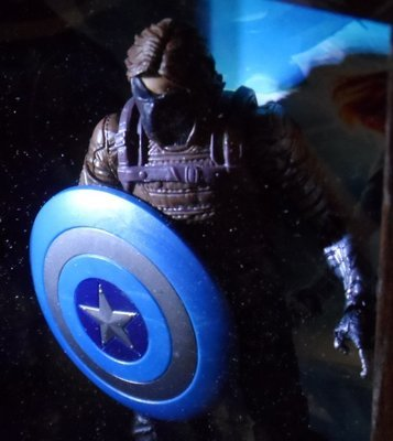 Captain America Winter Soldier Shadowbox