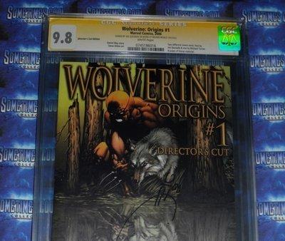 Wolverine Origins #1 : CGC 9.8 : Signature Series