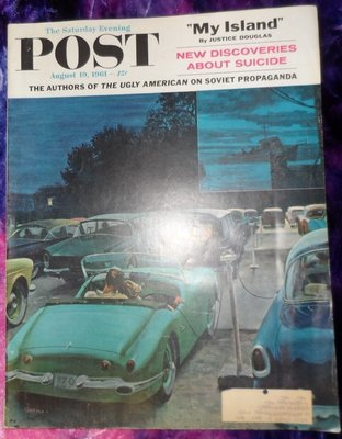 The Saturday Evening Post 08/19/1961