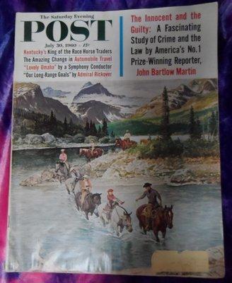 The Saturday Evening Post 07/30/1960