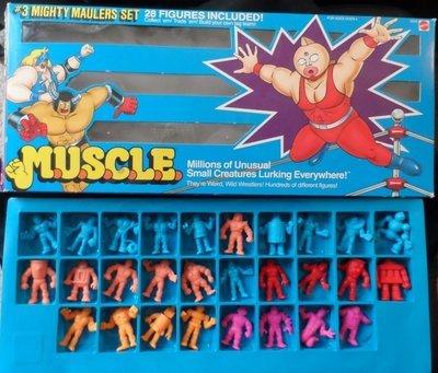 M.U.S.C.L.E Figures Set #3- Mighty Maulers Set