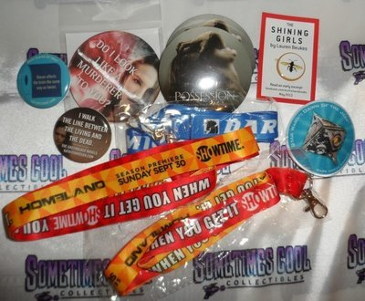 Showtime Lanyards & Promo Buttons Collection
