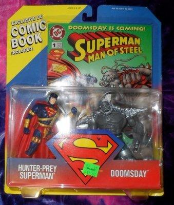 Superman Man Of Steel Action Figure Set