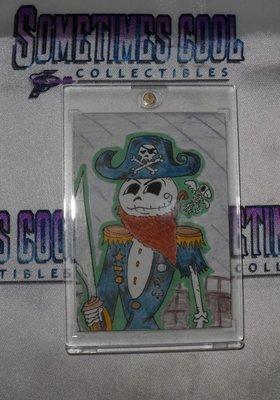 Pirate Jack Sketch Card