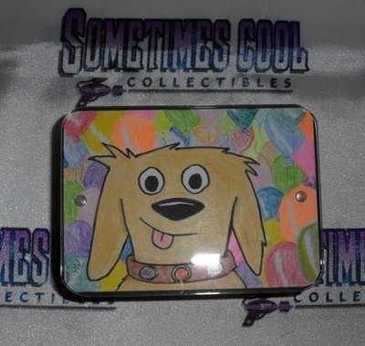 Dug Sketch Card in Mini Box Frame