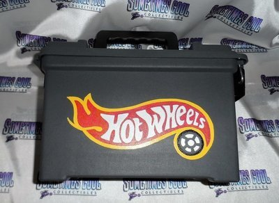 Ammo Box Customized - Hot Wheels Logo