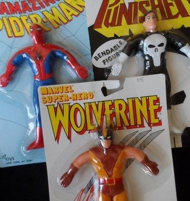 Marvel Bendable Figures Set
