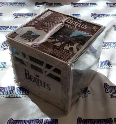 The Beatles : Abbey Road T-Shirt & CD Crate