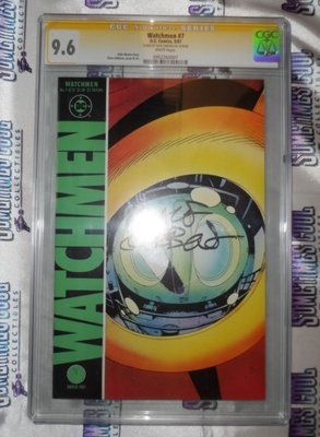 Watchmen #7 (Yellow Label) / CGC 9.6 SS