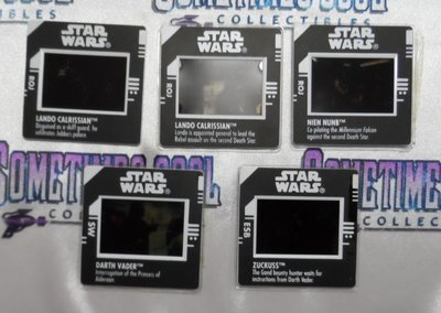 Star Wars : Freeze Frame Action Slides Set