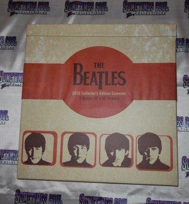 the Beatles : 2016 Collector's Edition Calendar
