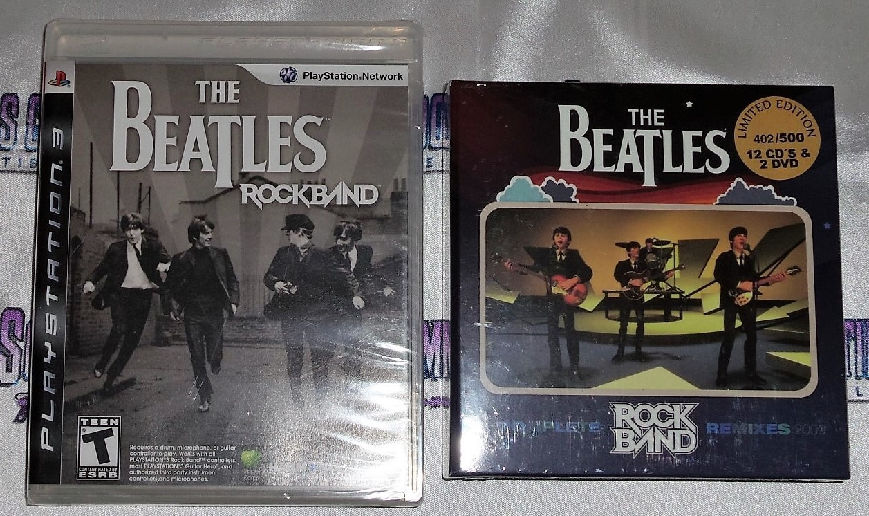 the Beatles : Rockband Set