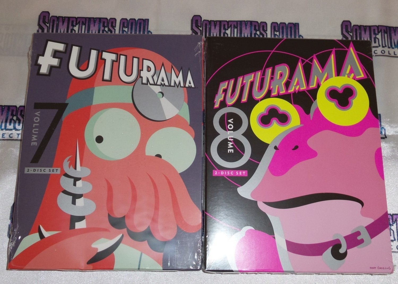 Futurama Volumes 7 & 8 DVD Set