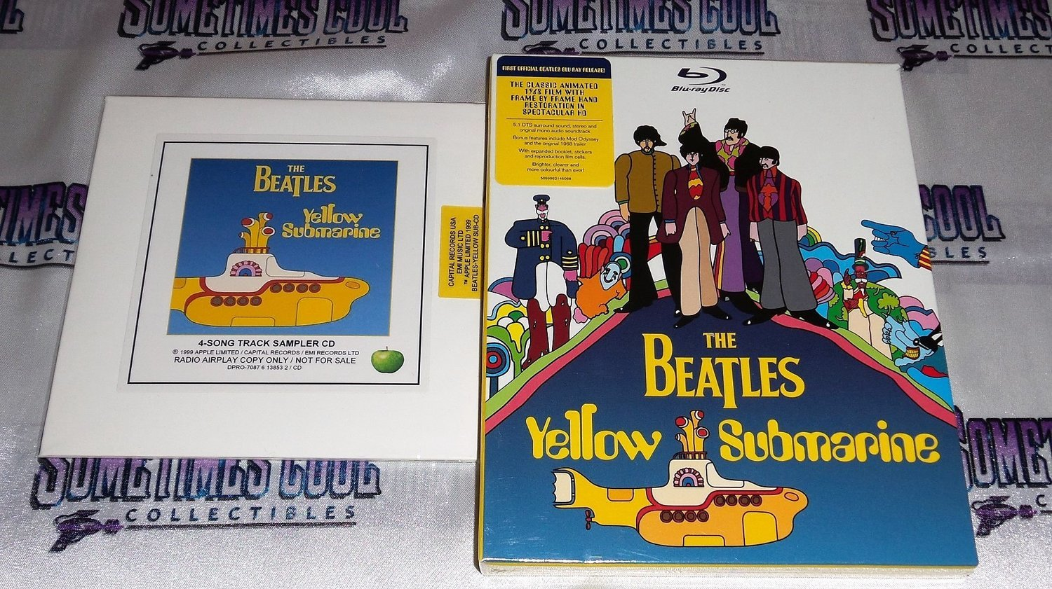 the Beatles : Yellow Submarine Set